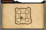 Map clue Dark Warriors' Fortress