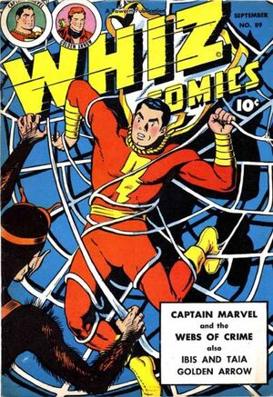 Cover for Whiz Comics #89