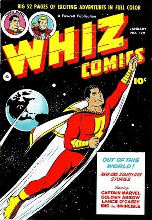Cover for Whiz Comics #129