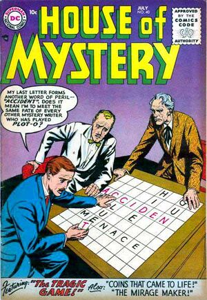 Cover for House of Mystery #40