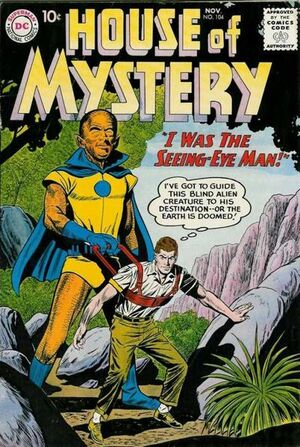 Cover for House of Mystery #104