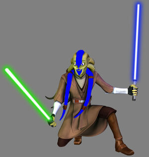 Pryce Fisto two sabers