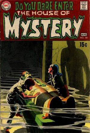 Cover for House of Mystery #181