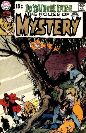 Cover for House of Mystery #187