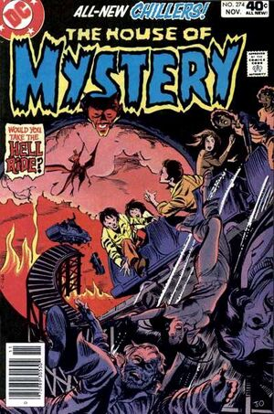 Cover for House of Mystery #274