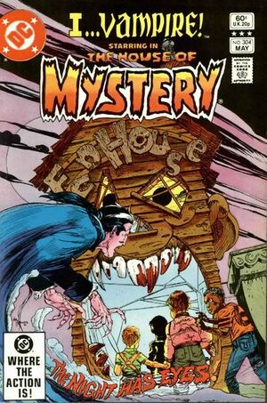 Cover for House of Mystery #304