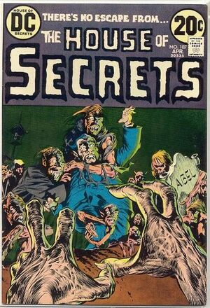 Cover for House of Secrets #107
