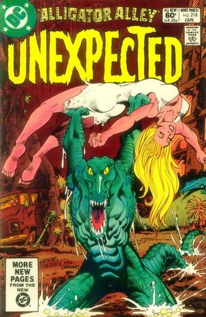 Cover for Unexpected #218