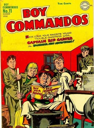 Cover for Boy Commandos #11