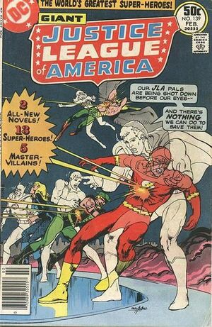 Cover for Justice League of America #139