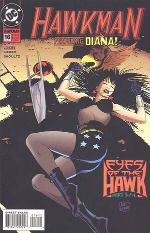 Cover for Hawkman #16