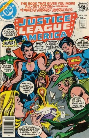 Cover for Justice League of America #161