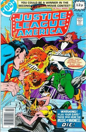 Cover for Justice League of America #163