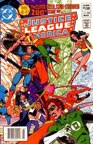 Cover for Justice League of America #200