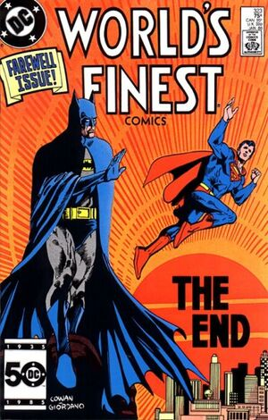 Cover for World's Finest #323