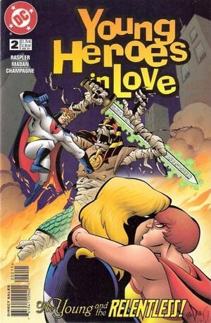 Cover for Young Heroes in Love #2