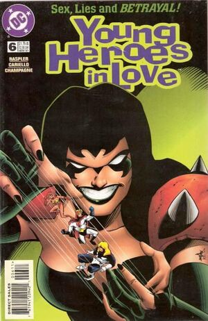 Cover for Young Heroes in Love #6
