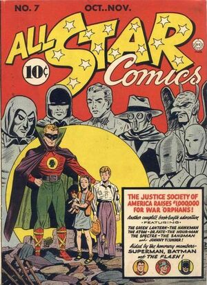 Cover for All-Star Comics #7