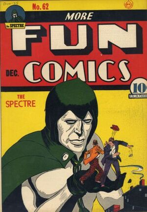 Cover for More Fun Comics #62
