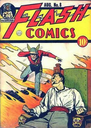 Cover for Flash Comics #8