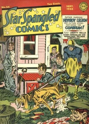 Cover for Star-Spangled Comics #24