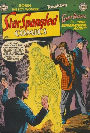 Cover for Star-Spangled Comics #127