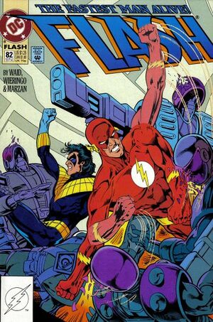 Cover for Flash #82