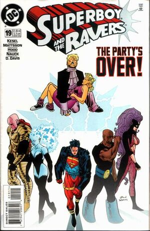 Cover for Superboy and the Ravers #19