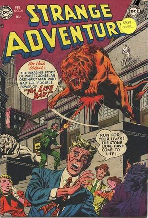 Cover for Strange Adventures #29