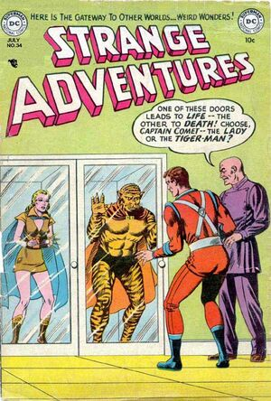 Cover for Strange Adventures #34