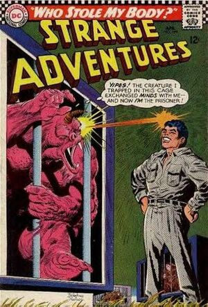 Cover for Strange Adventures #199