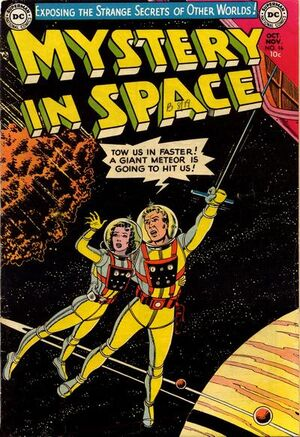 Cover for Mystery in Space #16