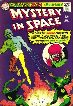 Cover for Mystery in Space #104