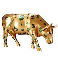 Golden calf dollar