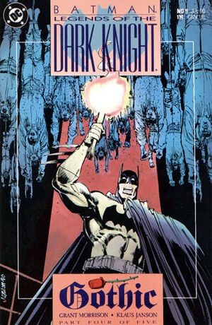 Cubierta para Batman: Legends of the Dark Knight # 9 (1990)