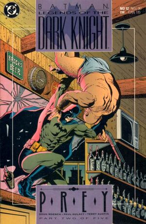 Cubierta para Batman: Legends of the Dark Knight # 12 (1990)