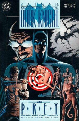 Cubierta para Batman: Legends of the Dark Knight # 13 (1990)