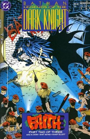 Cubierta para Batman: Legends of the Dark Knight # 22 (1991)
