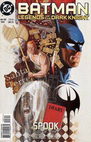 Cover for Batman: Legends of the Dark Knight #103