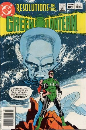 Cover for Green Lantern #151
