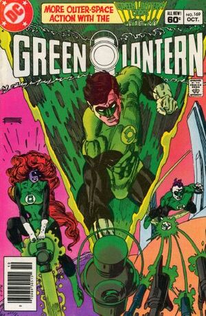 Cover for Green Lantern #169