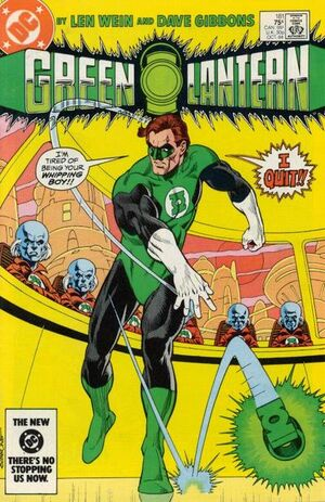 Cover for Green Lantern #181
