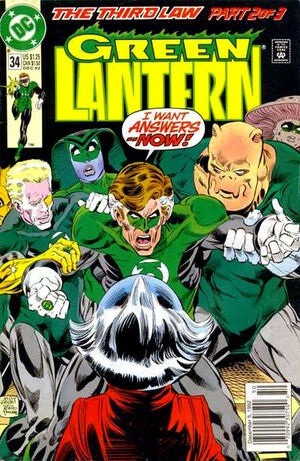 Cover for Green Lantern #34
