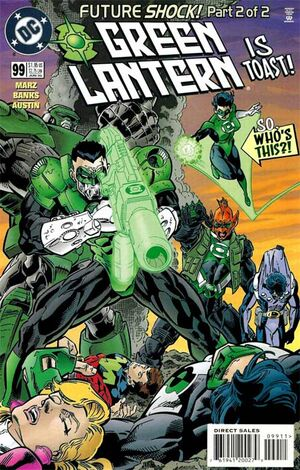 Cover for Green Lantern #99