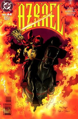 Cover for Azrael #44