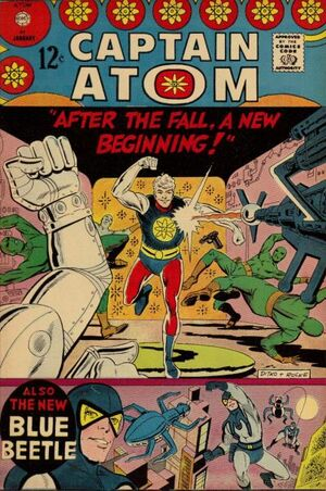 Cover for Captain Atom (Charlton) #84