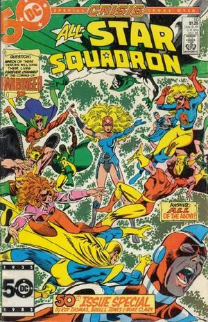 Cover for All-Star Squadron #50