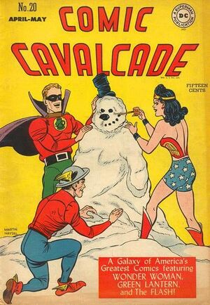 Cover for Comic Cavalcade #20