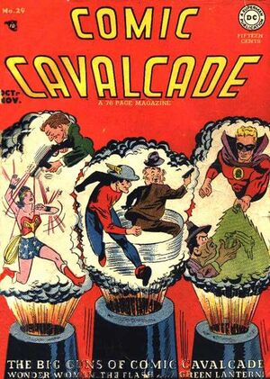 Cover for Comic Cavalcade #29