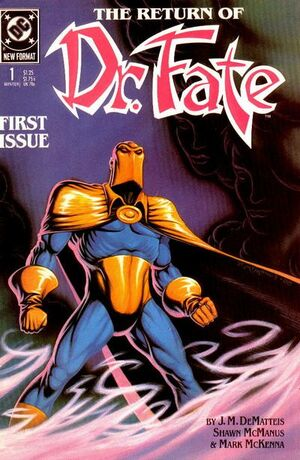 Cover for Doctor Fate #1